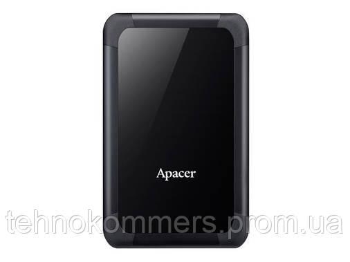 """Жорсткий диск зовнішній Apacer USB 3.1 Gen1 AC532 1TB 2,5"""" Чорний, фото 2"""