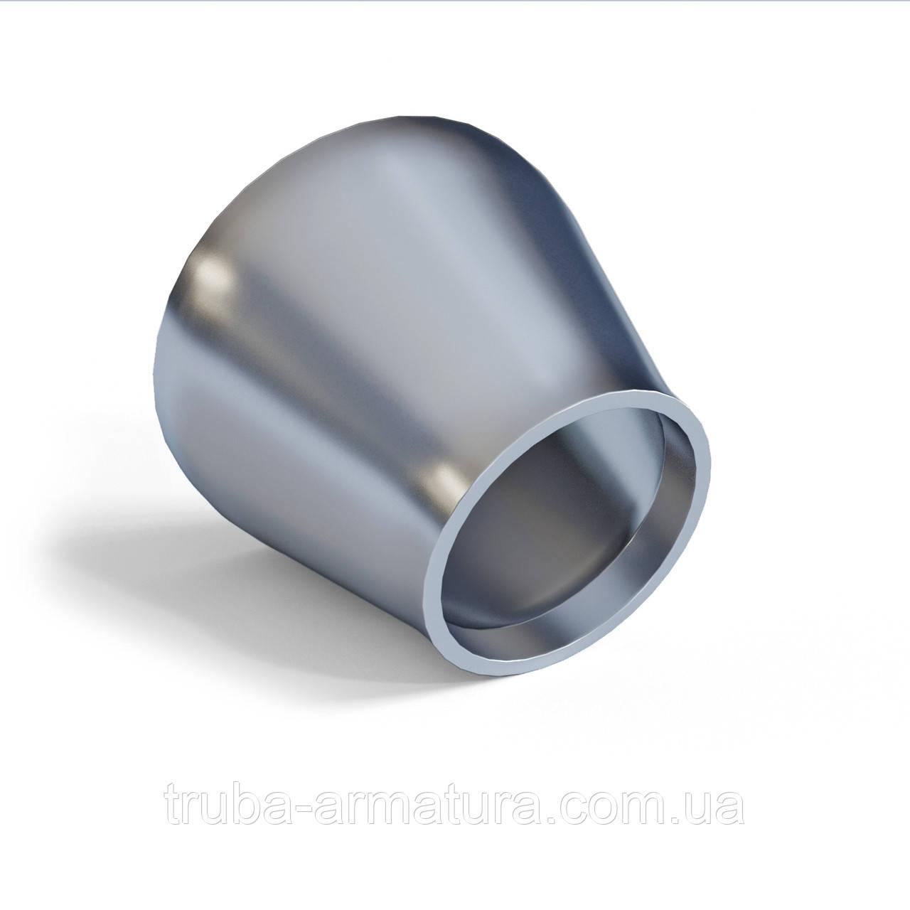 Переход оцинкованный стальной для труб 89x48 (80x40)