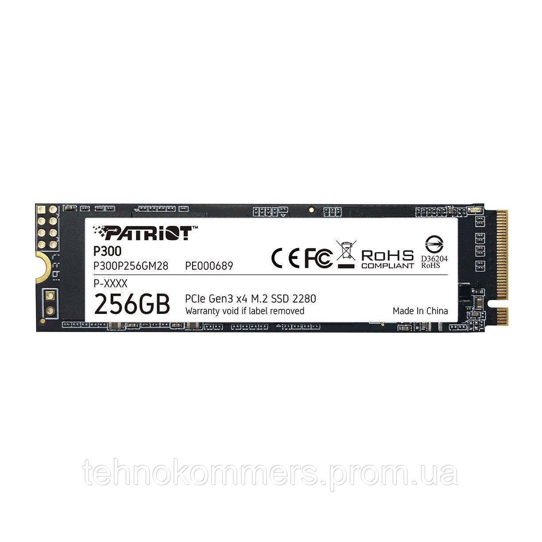 Накопичувач SSD Patriot P300 256GB M.2 PCI Express 3.0x4 3D TLC
