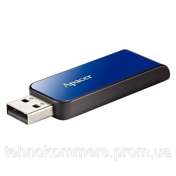 Флеш-накопичувач Apacer USB2.0 AH334 16GB Blue