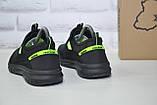 Підліткові дихаючі кросівки сітка чорні Restime, фото 5