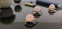 Куля з натурального каменю Рожевий кварц