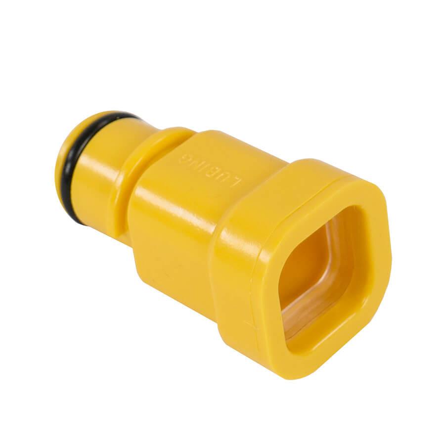Переход с регулятора давления на трубу 22х22 мм Lubing