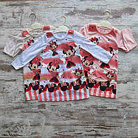 Детское платье прямое MINNIE для девочки 2-5 лет, цвет уточняйте при заказе