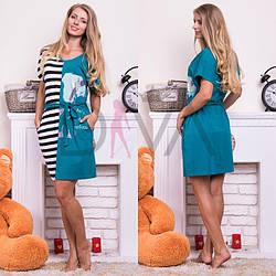 """Платье женское для дома """"Rukim"""" RKM139016"""