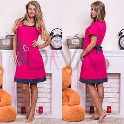 """Женское платье для дома """"RUKIM"""" норма rkm128007"""