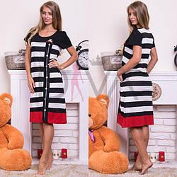"""Женское платье для дома """"Rukim"""" (норма) RKM-139040"""