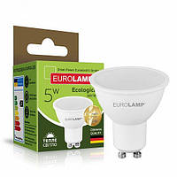 Точечная светодиодная EUROLAMP LED Лампа ЕКО SMD MR16 5W GU10 3000K