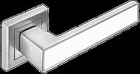 Ручка дверная A-2015 МС+ WHITE