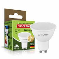 Точечная светодиодная EUROLAMP LED Лампа ЕКО SMD MR16 5W GU10 4000K