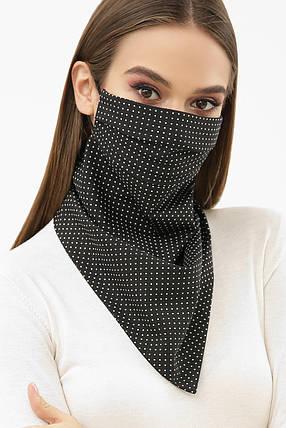 Красива маска хустку захисна, універсального розміру, фото 2