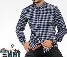 Рубашка мужская кашемировая с длинным рукавом Rubaska  Турция M