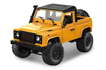 Машинка на радіоуправлінні 1:12 MN Model Краулер D90 Defender повнопривідний (жовтий)
