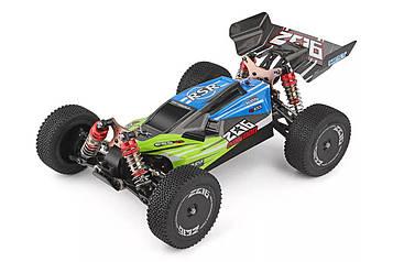 Машинка на радіоуправлінні 1:14 баггі WL Toys 144001 4WD (зелений)