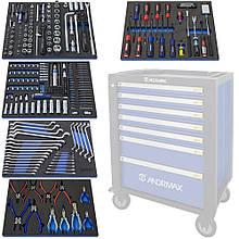 Набір інструменту для возів, 323 предмета ANDRMAX