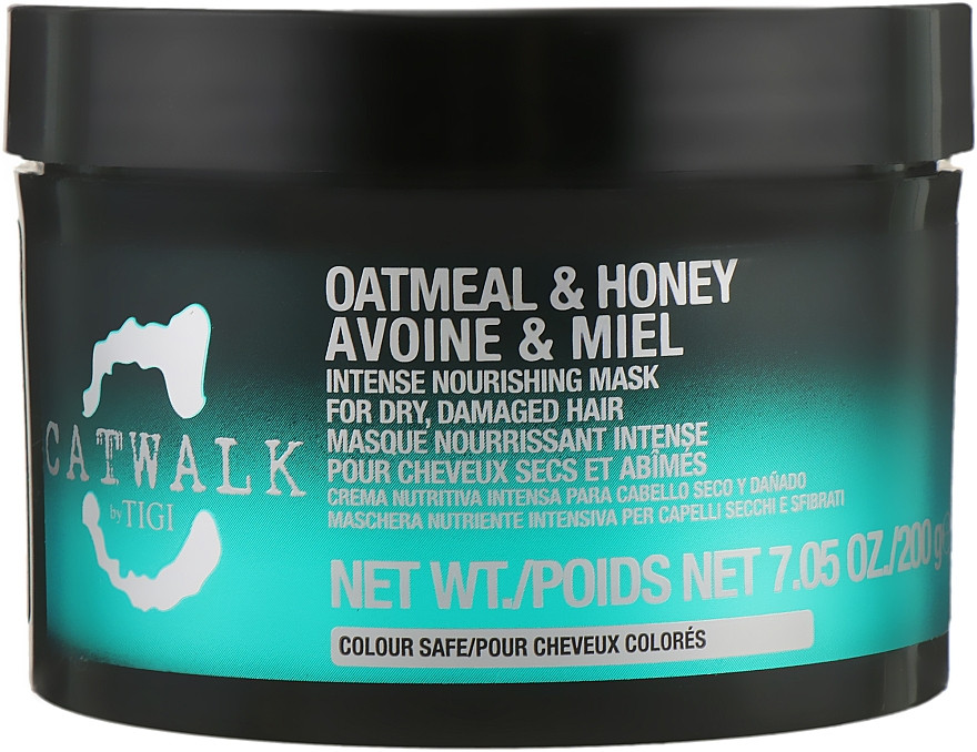 Маска для волос восстанавливающая маска Tigi Catwalk Oatmeal & Honey Nourishing, 200 мл