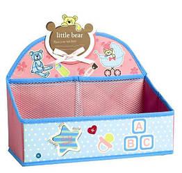 Органайзер HMD Happy day для игрушек и канцелярских принадлежностей Слоник 105-10218959, КОД: 1819962