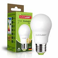 Классическая светодиодная EUROLAMP LED Лампа EKO A50 7W E27 3000K