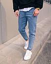 Джинсы мужские голубые от бренда Тур модель Мом, фото 2