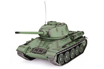 Танк на радіокеруванні 1:16 Heng Long T-34 з пневмопушкой та/до боєм (Upgrade) (SV)