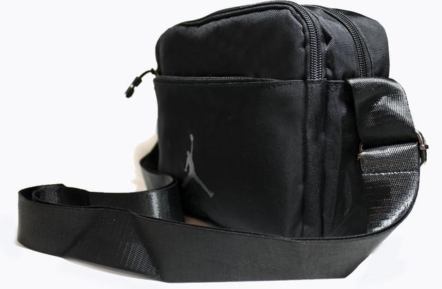 Стильна сумка для чоловіків із штучної шкіри чорного кольору YR 2091-2