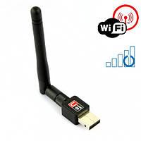 Микро WIFI 150Mb 802.11 адаптер + антенна, фото 1