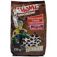 Хлопья шоколадные злаковые Miami Chocoszoki 250 г Польша