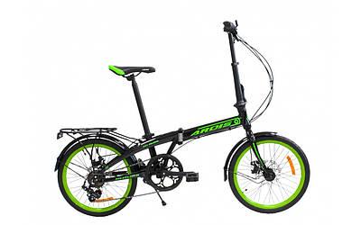 """Складаний велосипед алюмінієвий 20"""" Crossride City Folding"""