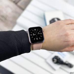 Жіночі Розумні смарт годинник Modfit ZL11 Pink-Black /Електронні смарт годинник /Сенсорні жіночі годинники
