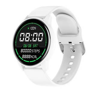 Сенсорні наручні годинники білі Modfit ZL01S All White Білі смарт годинник /Електронні годинники смарт