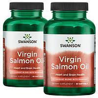 Лососевое масло Swanson Salmon Oil EPA DHA 90 гель.капс 90 капс