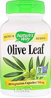 Экстракт Оливковых Листьев Nature's Way Olive Leaves 500 мг 100 Капсул Скидка! (232081)