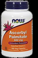 Аскорбил Пальмитат  Now Foods Ascorbyl Palmitate   500 мг 100 вегетарианских капсул