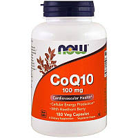 Коэнзим Q10 Now Foods CoQ10 (200 мг) 180 капс Скидка! (232353)