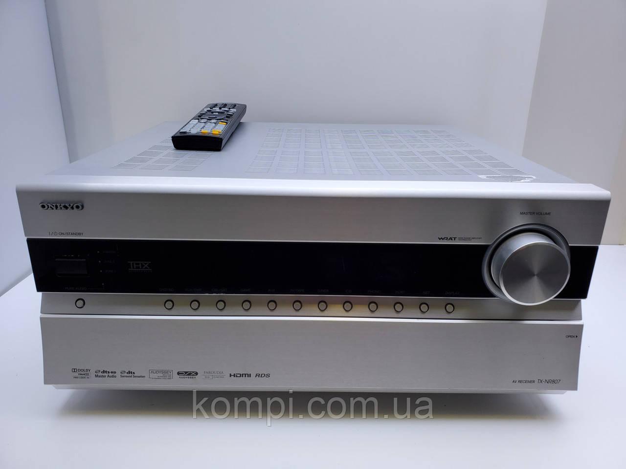 Ресивер 7.2 ONKYO TX-NR 807  TrueHD/Net
