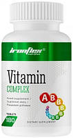 Вітаміни і мінерали IronFlex Vitamin Complex 180 таб
