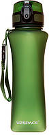 Бутылка для воды Бутылка для воды UZspace Wasser Green (500 мл) Зелёная