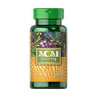 Витамины и минералы Puritans Pride Acai 1000 мг 60 гель.капс