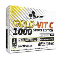 Вітаміни Olimp Labs Gold Vit C 1000 Sport Edition 60 капс Знижка! (231006)