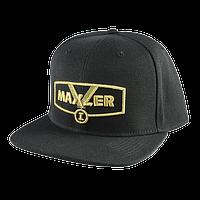 Кепка Maxler чорна+золотий логотип