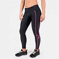 Леггинсы Gorilla Wear Carlin Compression Tight Black Pink