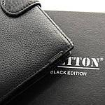 Кошелек мужской кожаный большой BRETTON черный (05-108), фото 4