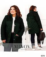 Оригинальная куртка плюс сайз с подкладкой, куртка с накладными карманами