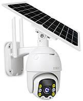 Автономна камера відеоспостереження з датчиком руху UKC Solar IP Camera Model Q5 | камера наблюдения