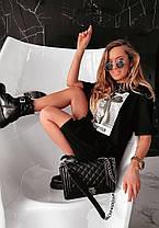 Летнее платье футболка свободное Dangerous Woman, фото 3