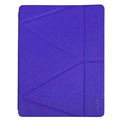 "Чохол Origami Case для iPad Pro 10,5"" / Air 2019 Leather embossing purple, фото 2"