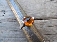 "Серебряное кольцо ""Madeira"" с цитрином от WickerRing"