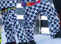 Сноубордические брюки штаны в подарок перчатки флисовые Thinsulate