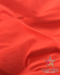 Ткань Бифлекс матовый ( неон оранжевый )