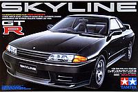 Сборная уменьшенная копия автомобиля Nissan Skyline GT-R 1/24 от компании Tamiya 24090